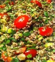 Home Peru RECIPE Quinoa Salad With Puy Lentils Lemon Sumac