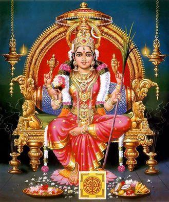 Sri Kamakshi-Kanjeevaram-Tamilnadu