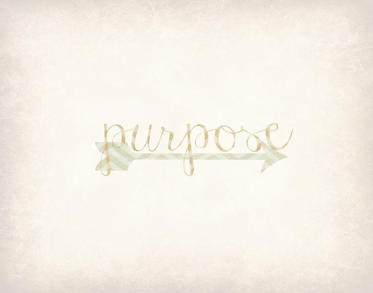 My Fabuless Life: One Word for 2013: Purpose Free Printable #printable #purpose