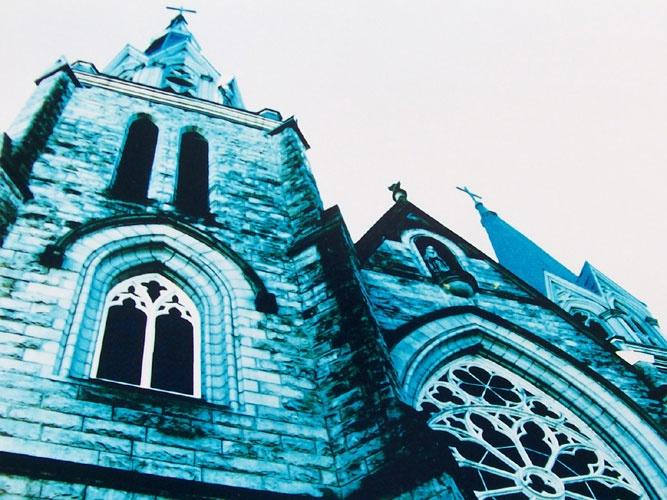 Holy Rosary Cathedral  Tina Winterlik © 1999 http://tinawinterlik.blogspot.com  http://twitter.com/#!/zipolita
