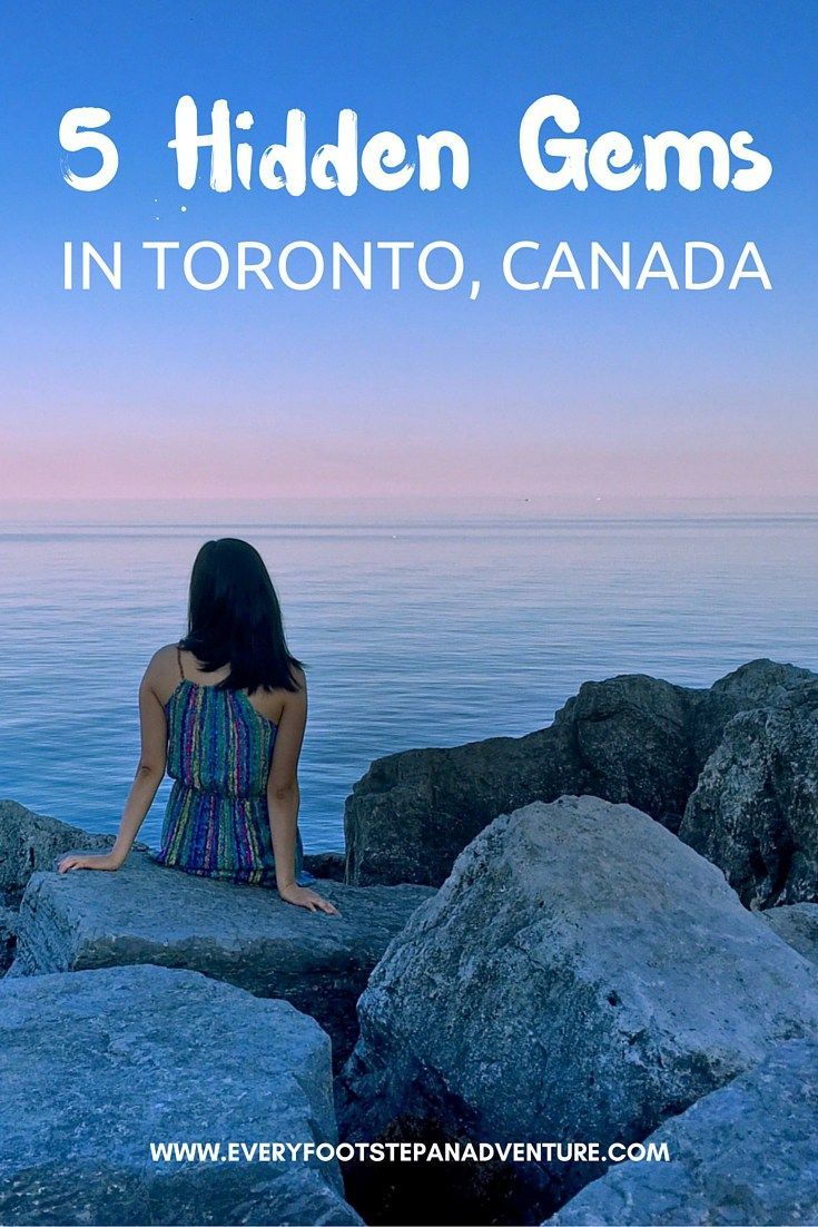 Looking for some off the beaten path destinations in Toronto, Canada? Born and raised in this vibrant, multicultural city, check out my picks for the 5 BEST hidden gems in Toronto!