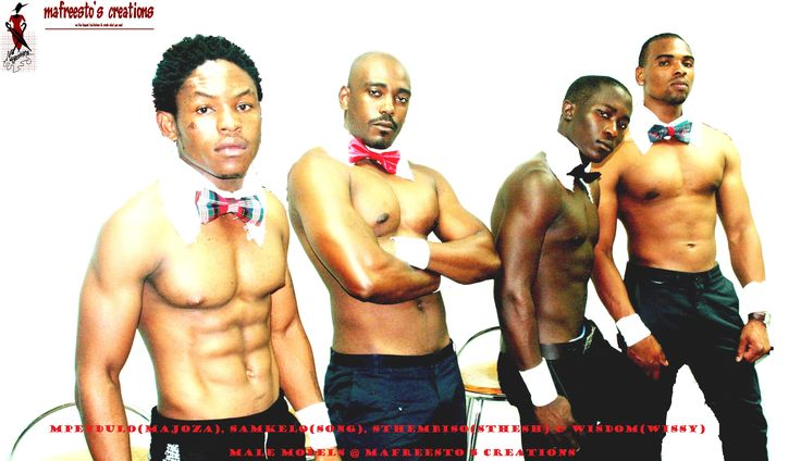 Male models at mafreestos creations mr Giga-Guru
