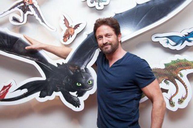 Пресс-конференция «Как приручить дракона-2″ | Джерард Батлер