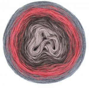 Wool & More - LoLa Farbverlaufsgarn Jeansfarben Denim  12 Durch die Verarbeitung von 3 bis 8 Fäden in unterschiedlichen Farbvarianten entstehen die einmaligen Farbkombinationen.