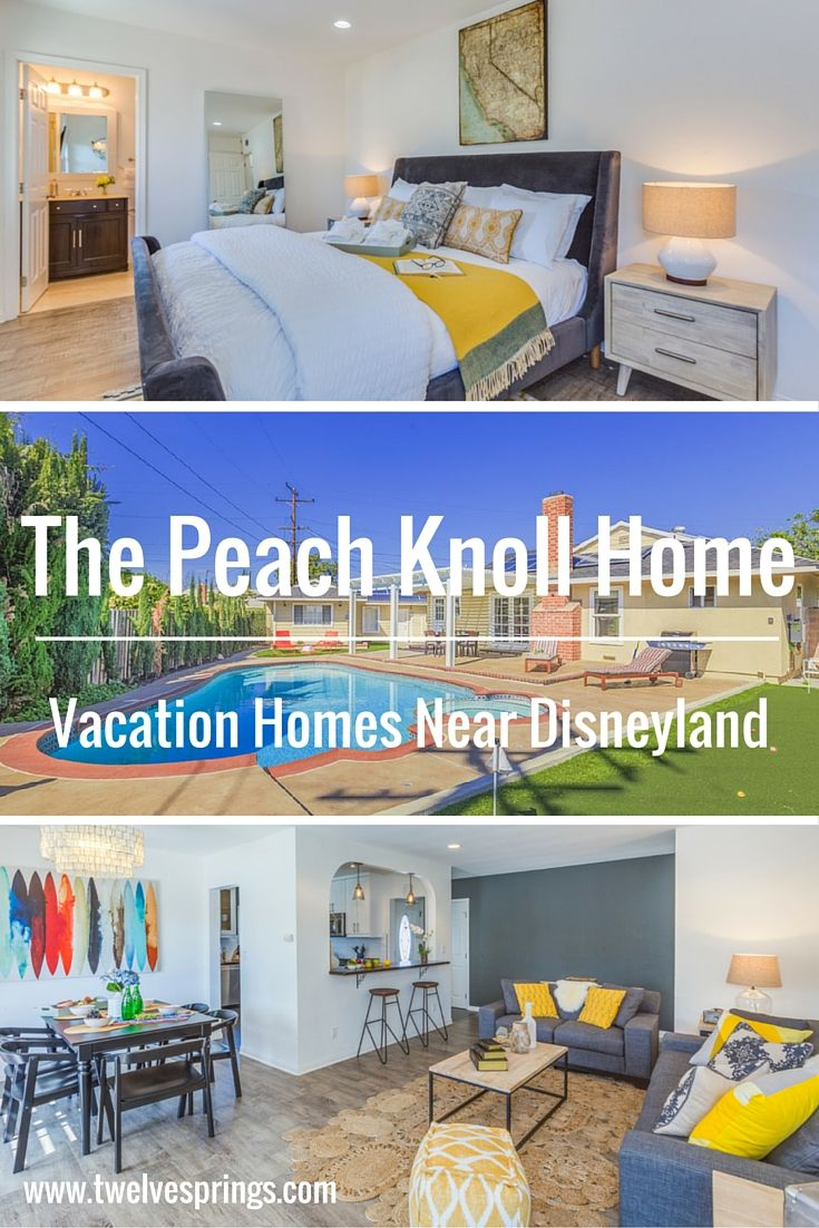 Beautiful and affordable vacation home near Disneyland. | The Peach Knoll Home by Twelve Springs, 3 bedroom, 2 bathroom paradise with private pool & hot tub, and mini golf course.