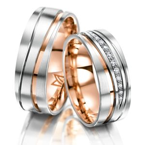 Icon <strong>Creative diversity<br /></strong> For couples who are drawn to creative ideas and looking for a particularly unusual design for their wedding rings.