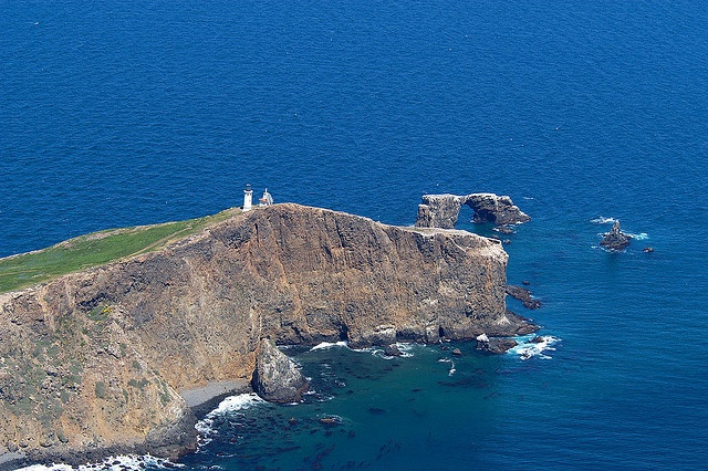 A breathtaking view of Anacapa Island, part of the Channel Island chain off the coast of California.