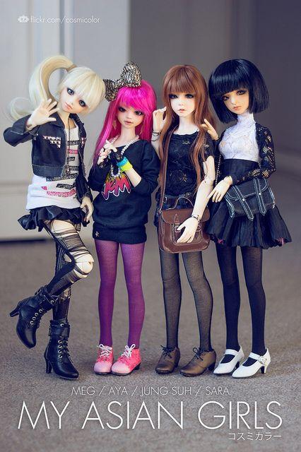 Asian Girls. BY:-Sebastian Vargas-
