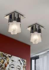 Plafón de 1 Luz de Diseño Moderno : Colección FLOR
