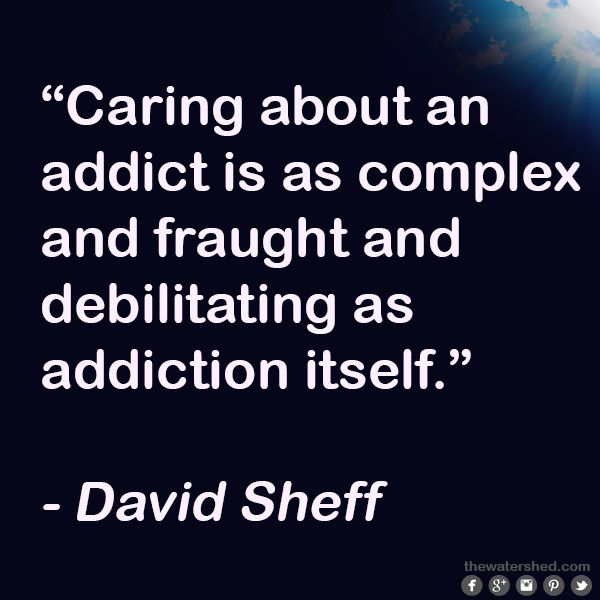 When it comes to the children of addicts, there is often more attention focused…