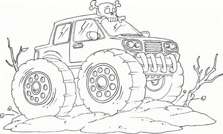 Hot Wheels Monster Truck Coloring Pages Monster Truck Coloring Pages Truck Coloring Pages Cars Coloring Pages