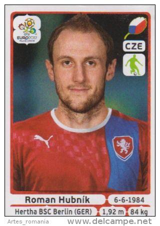 Roman Hubnik Stickers Panini Euro 2012 UEFA
