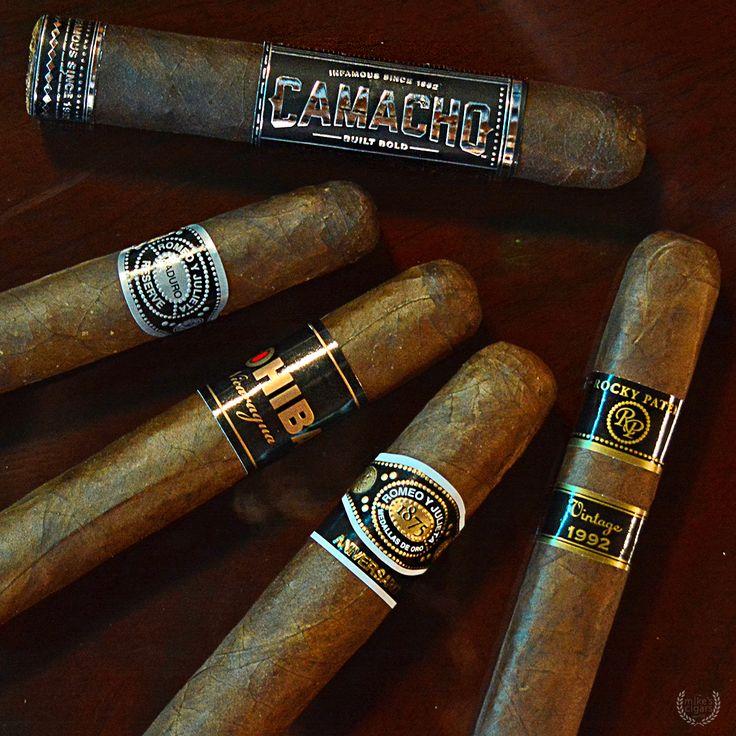 Black Label Cigar Sampler featuring Rocky Patel Vintage 1992, Romeo Y Julieta 1875 Reserve Maduro, Romeo Y Julieta Aniversario, Camacho Triple Maduro, & Cohiba Nicaragua N50