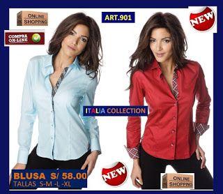 ITALIA.COLLECTION :THE ON LINE BOUTIQUE STORE: Blusas Ejecutivas,Blusas de moda, 2017 en Blusas , Blusas de vestir, Blusas para Oficinas ,camisas femeninas, Blusas para secretarias , Lindos diseños y modelos en telas 100% algodón peruano