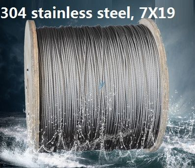 4mm 5mm 10m 7x19 304 stainless steel wire rope softer fishing cable clothesline traction rope. Black Bedroom Furniture Sets. Home Design Ideas