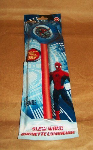 Marvel Ultimate Spider-Man Glow Wand @ niftywarehouse.com #NiftyWarehouse #Spiderman #Marvel #ComicBooks #TheAvengers #Avengers #Comics
