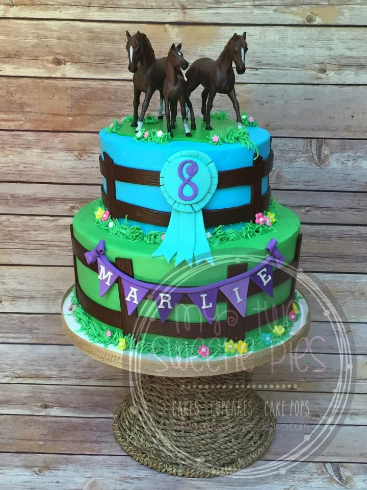 Horse Theme Birthday Cake Torten Und Deko Pinterest Birthday - Horse themed birthday cakes