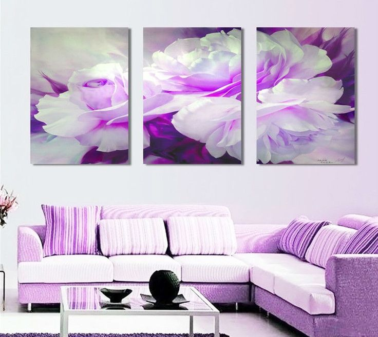Purple Canvas Wall Art 101 best wall art images on pinterest | purple wall art, purple
