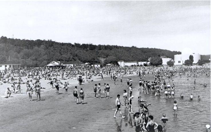 Plage du Foulon © Archives nationales du Québec à Québec, Laval Couët