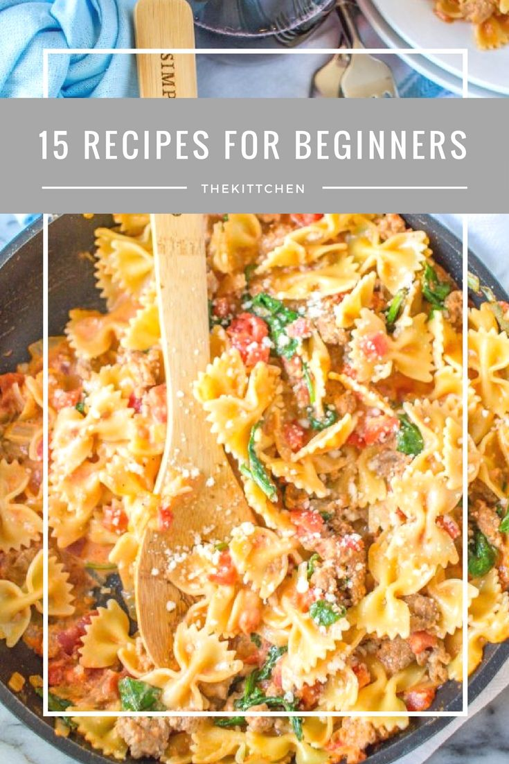 15 Easy Recipes for Beginners – Dinner Recipes that you need to know – via theki…