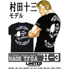 T-Shirt Crows Zero - TFOA - Kode H-3