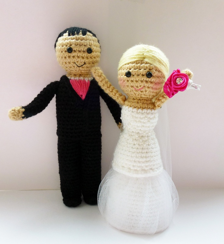 Crochet Wedding Gifts Patterns: 1000+ Images About Parejitas Crochet On Pinterest