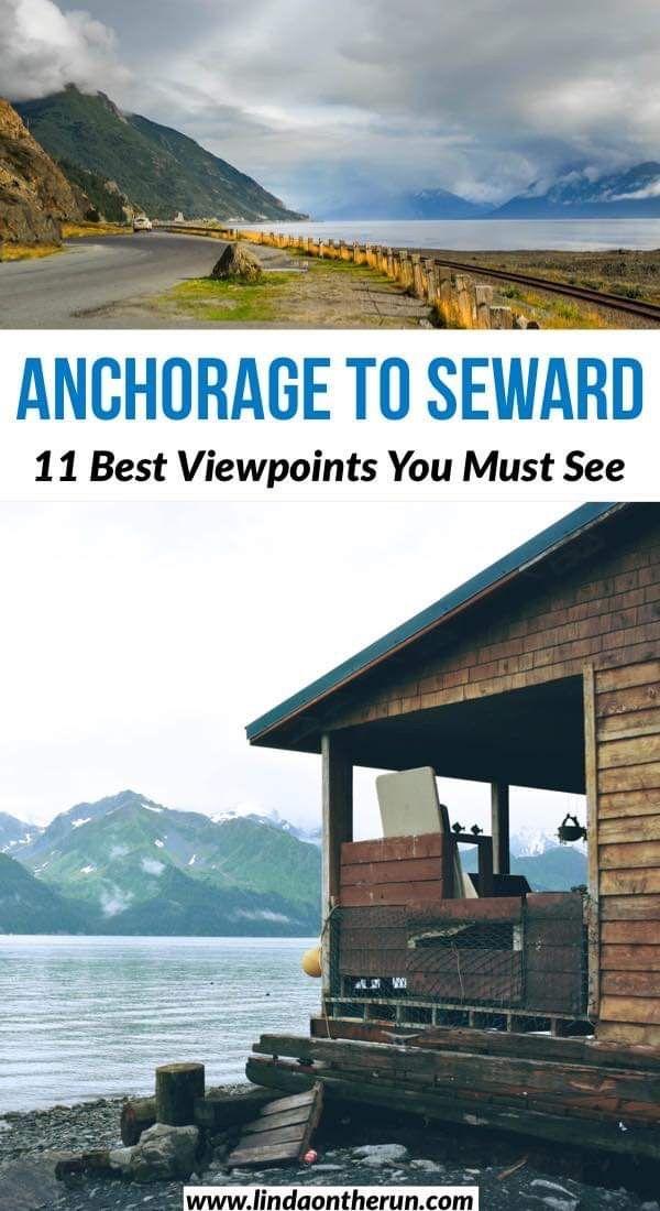 13 Best Stops On The Drive From Anchorage To Seward Alaska Linda On The Run Alaska Travel Seward Alaska United States Travel Destinations