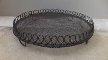 Victorian Round Wire Work Cake Cooling Rack