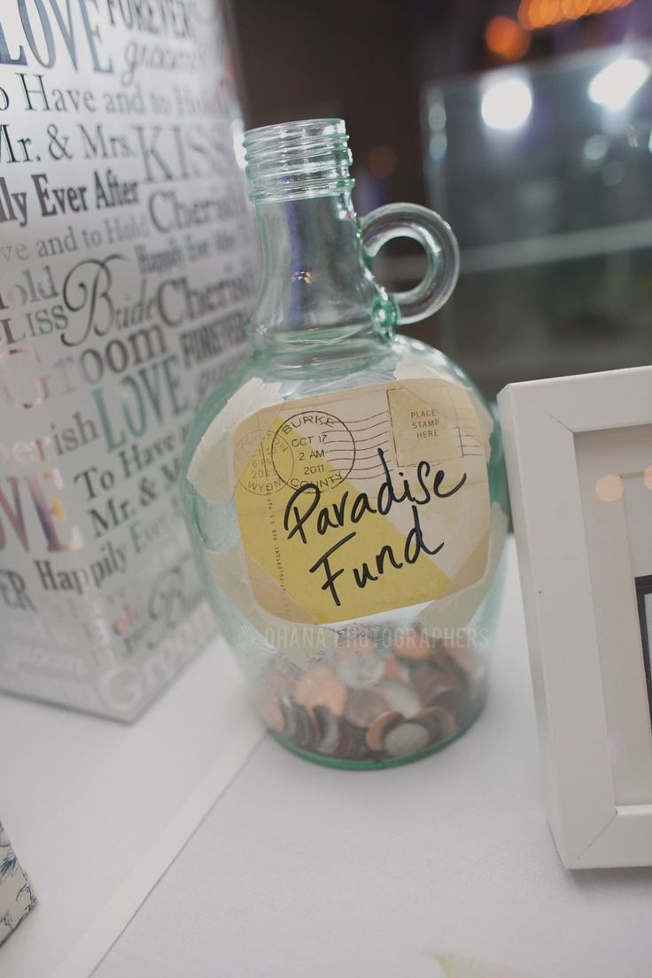 Paradise Falls Honeymoon Fund Jar in lieu of Money Dance  // Disney Up Inspired Wedding // Pandora On Green Wedding in Pasadena