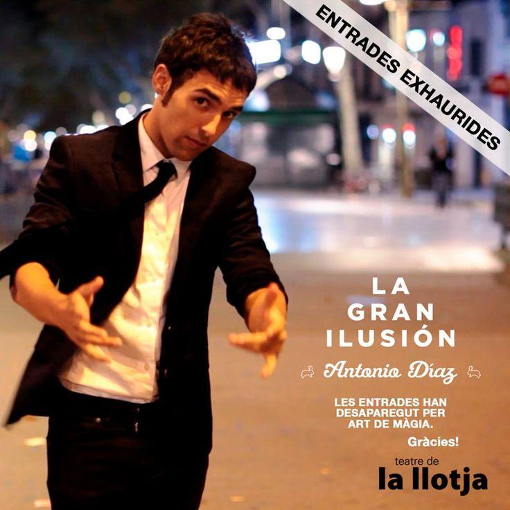 El Mago Pop al Teatre de la Llotja de Lleida. Totes les entrades venudes! :p Gràcies.