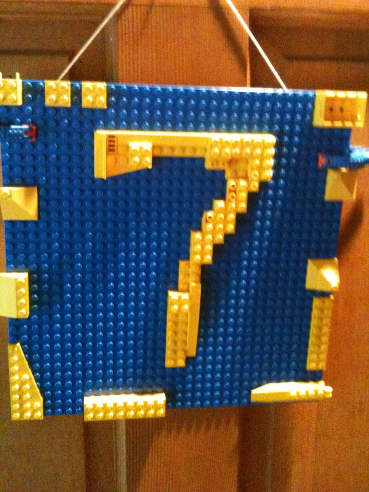 Lego birthday party.