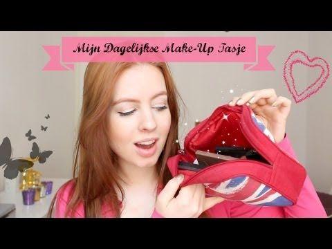 Mijn Dagelijkse Make-Up Tasje | PinkyPolish.nl
