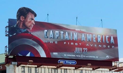 Valla de publicitaria - Capitán América