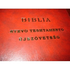 Gypsy - Hungarian New Testament / Cigany - Magyar Ujszovetseg / Suntoiskiripe Nyevo Teshtamento   $48.99