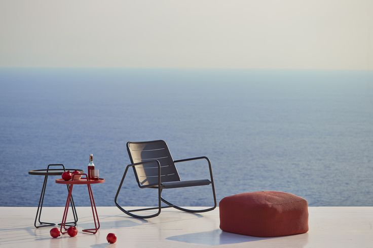 Copenhagen Rocking Chair. An updated version of Grandma's classic rocking chair. #outdoorfurnitur #design #caneline