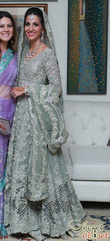 Shehrbano Taseer in Bunto Kazmi and Elan Bridal | Shehrbano Taseer Wedding | Secret Closet