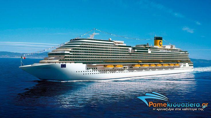 "#Costa #Diadema.As #wikipedia says ""currently Costa Crociere's flagship"" #cruise #pamekrouaziera"