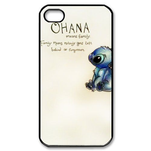 JIAXIUFEN Ohana Hard Rigid Plastic Back Case Cover For Apple Iphone 5 5S 5G Skin Protector Accessory:Amazon:Cell Phones & Accessories