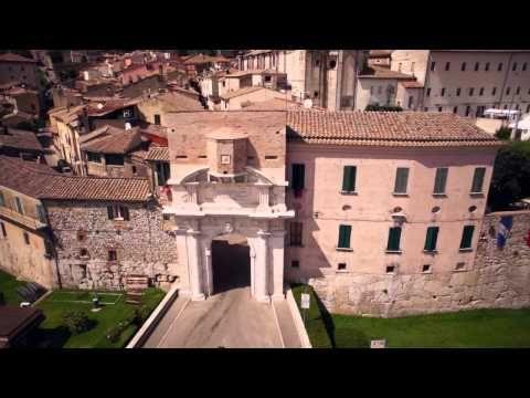DRONE AMELIA - YouTube (Amelia in Terni province Umbria region of Italy).