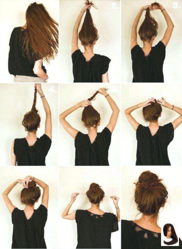 Amp Einfach Frisuren Minuten Quick Hairstyle Schnell Schone 45 Quick Easy Beautiful Hairstyles In 2 Minutes Frisuren Frisur Ideen Langhaarfrisuren