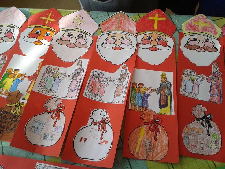 Mikuláš - deti si kreslili do vrecúška, čo by chceli od Mikuláša.