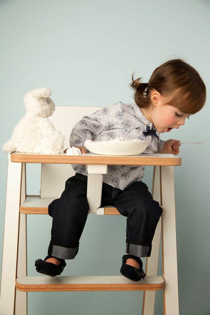 Mobilier bébé : Supaflat, la chaise haute pliable extra plate