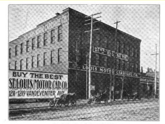 1904 St Louis Motor Carriage Co.