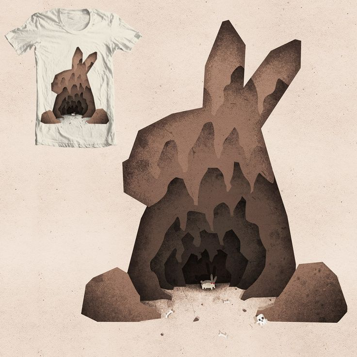 """A Monty Python Inspired Illustration of the Rabbit of Caerbannog. """"that's no ordinary rabbit""""  Buy as a pint, t-shirt … or on some product: http://www.boney.design/portfolio/thats-no-ordinary-rabbit"""