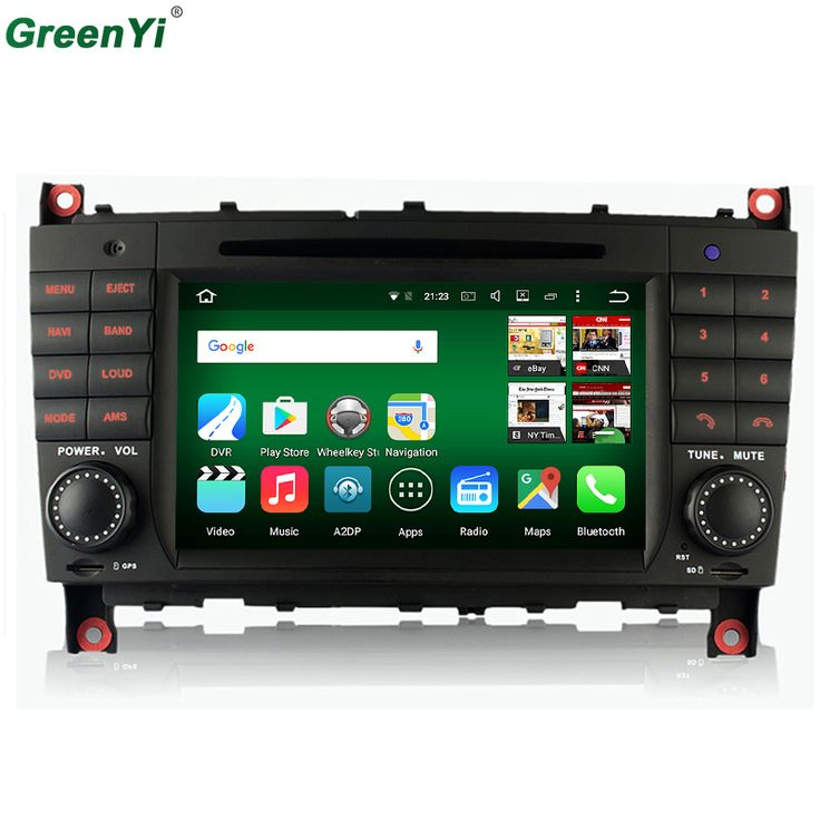 4G LTE Car DVD Player for Mercedes Benz C Class W203 C200 C230 C320 CLK 200 CLK350 CLK500 W209 Octa Core Android 6.0.1 GPS Radio //Price: $478.17 & FREE Shipping //     #navigation