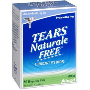 #wow Preservative-Free. Mild/Moderate Dry Eye36 Single Use Vials - 0.5 mL (0.01 fl oz) EachTears #Naturale #Free® Lubricant Eye Drops provide lasting relief for m...