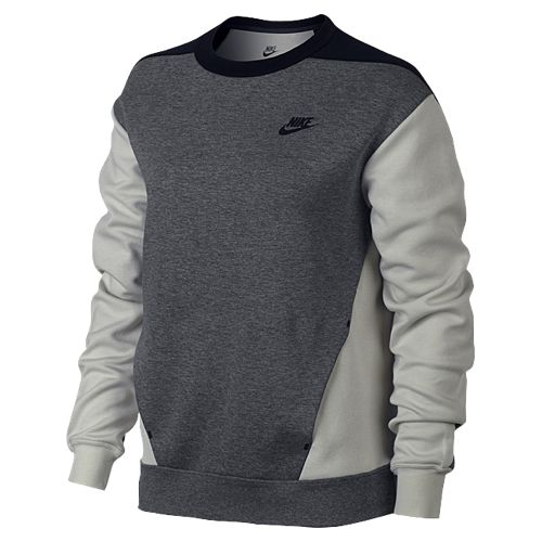 Nike Tech Fleece Colorblocked Crew - Women's at Foot Locker