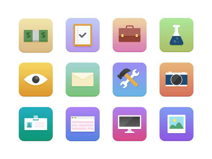 Surfing Icons by Sebastiano Guerriero
