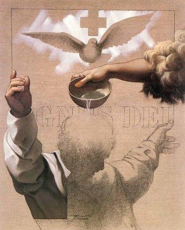 Sergio Ferro's Baptism of Christ
