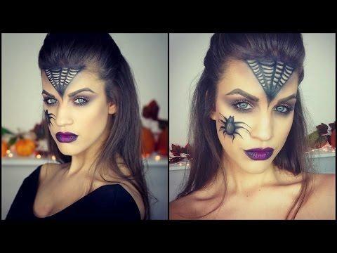 4 ideas terroríficas de maquillaje para Halloween paso a paso